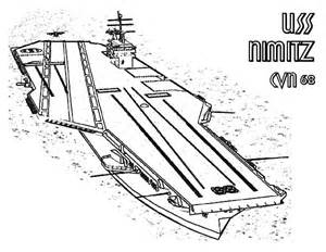 coloring page aircraft carrier gallery
