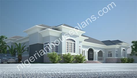 House Plans With 5 Bedrooms 3 amp 4 bedroom bungalow ref 3011 nigerianhouseplans