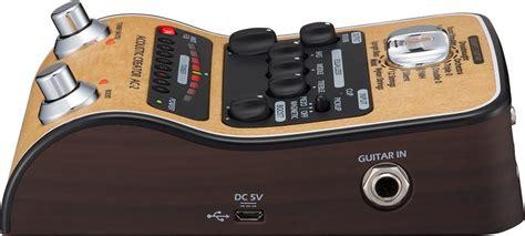 Pr Equalizer Coustic Ac 900 Usb Sd zoom ac 2 acoustic creator elerst s eq