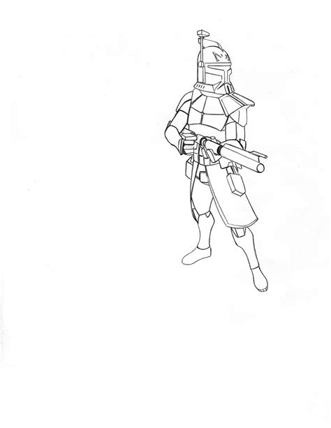 free coloring pages of captain rex