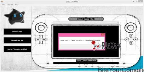 bite your console scena wii u rilasciato wiiuxtractor v1 3 biteyourconsole