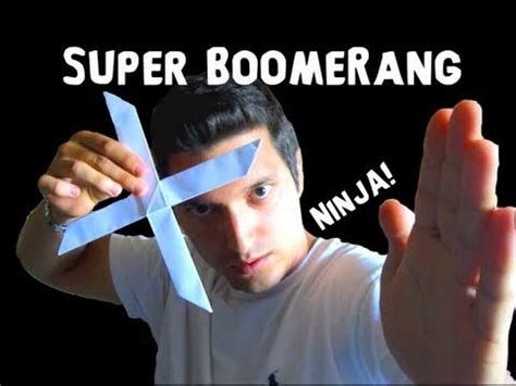 Origami Rob S World - how to make the boomerang rob s world