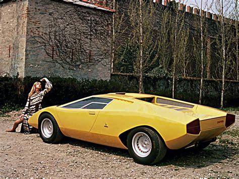 lamborghini prototype lamborghini countach lp500 prototype 1971 concept cars