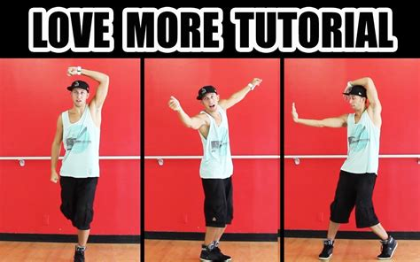 tutorial dance love me right love more chris brown dance tutorial mattsteffanina