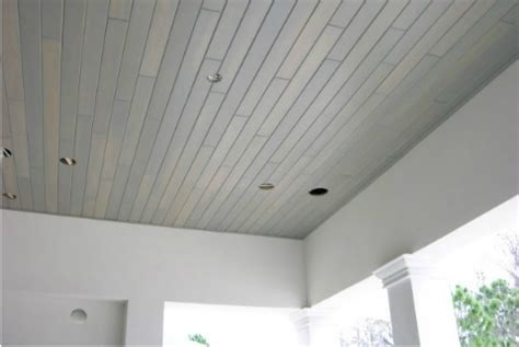 White Tongue And Groove Ceiling by White Pickled Cypress Tongue And Groove Ceiling