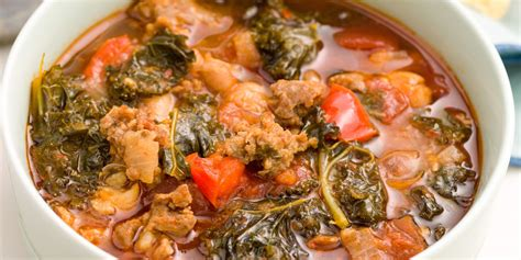 turkey recipe with sausage best spicy turkey sausage and kale chili recipe how to