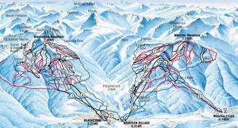 ski canada map whistler book cheap ski hotels packages