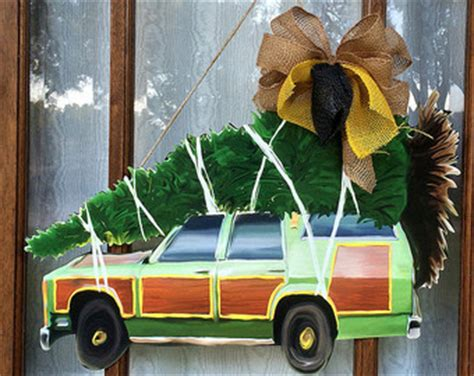 griswold car with christmas tree pics station wagon etsy