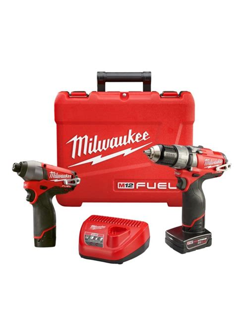 milwaukee tool m12 fuel two combo kit the home