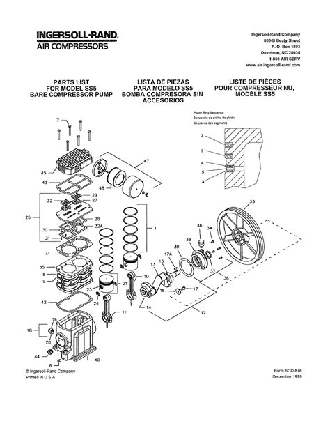 ingersoll rand parts diagram ingersoll rand t30 parts diagram kohler command parts
