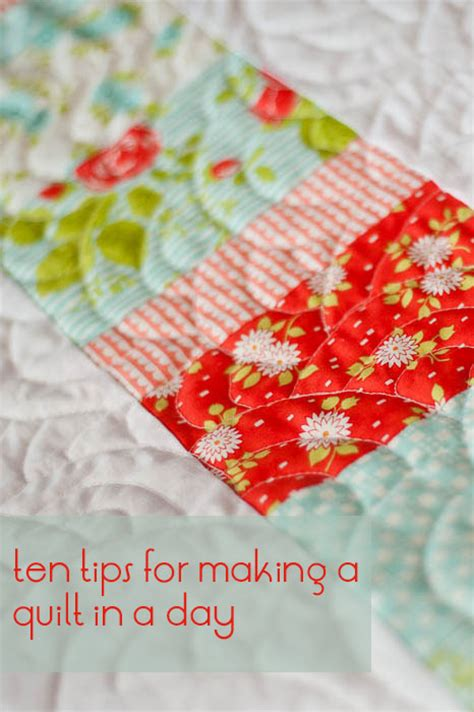 Quilt In A Day Free Tutorial Ten Quilt In A Day Tips By
