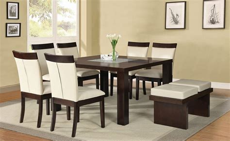 modern dining room set contemporary square dining room sets collections info