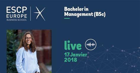 Mba In International Management Escp by Le Bachelor In Management Bsc De Escp Europe Enfin Un