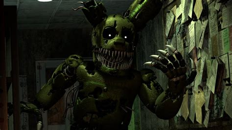 by f naf spring trap sonic99rae nightmare springtrap v2 by tf541productions on deviantart