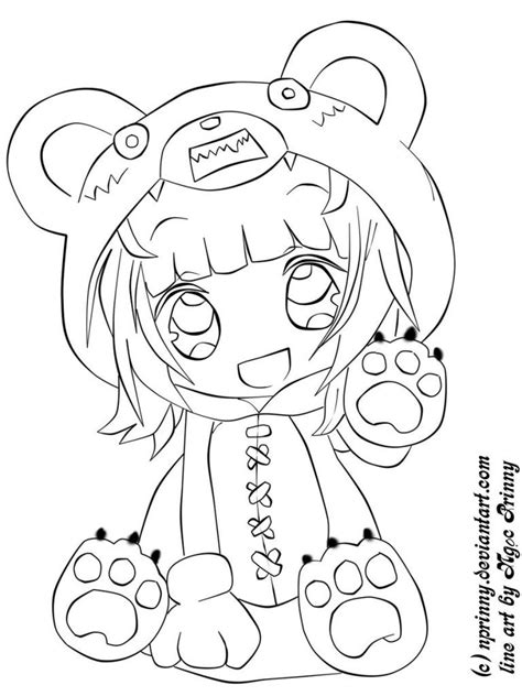 coloring pages japanese animation cute anime chibi coloring pages chibi reverse annie by