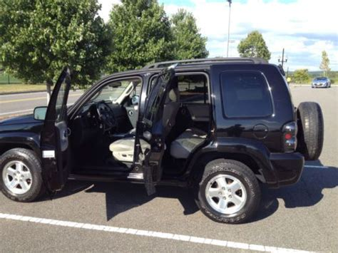Fog L Jaring Jeep 3 In find used 2003 black jeep liberty limited 3 7l 4wd hid headlights led fog lights in fort