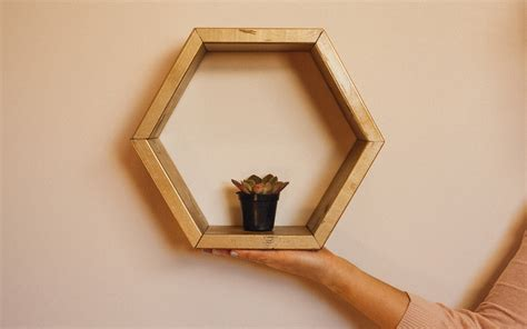 hexagon shelves dunn diy
