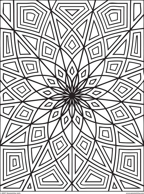 Printable Coloring Pages Cool Designs Cool Coloring Patterns