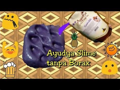 Slime Activator Metalic Bahan Bahan Slime100ml cara membuat slime tanpa borax gom tide detergent etc doovi
