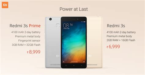 Redmi 3s 4g Lte buy xiaomi redmi 3s 3s prime starting from rs 6 999 on