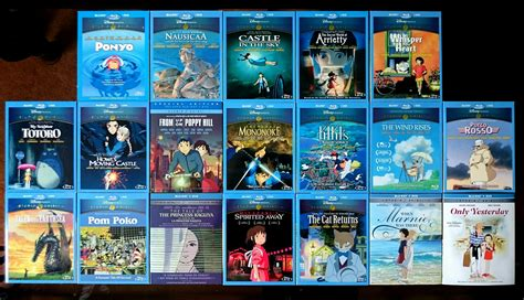 ghibli film order overview for k28m