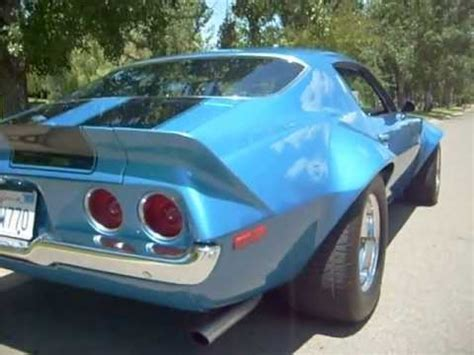 1970 camaro rs/ss 6 speed wide flares gm off road cam