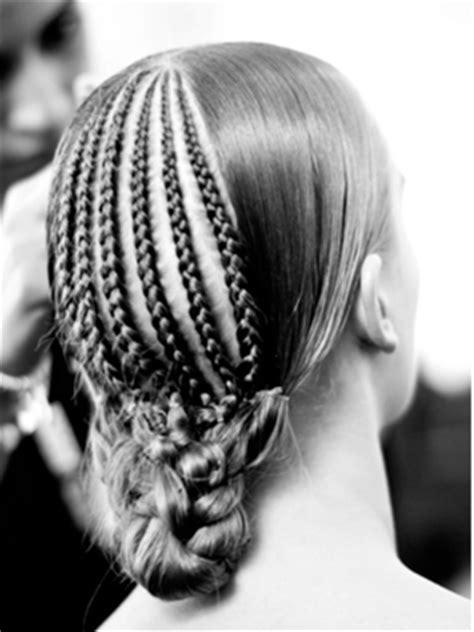 wide cornrow briads afrobeauty