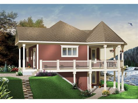 waterfront home plans waterfront house plans with walkout basement mediterranean