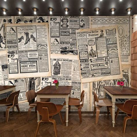 imagenes retro para restaurante estilo retro letras de peri 243 dico museo del caf 233 de