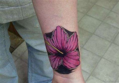 hibiscus wrist tattoos 15 matchless hibiscus wrist tattoos