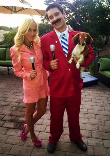 Movie Themed Halloween Costumes | anchorman movie themed couple costumes my style