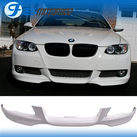 bmw alpine white 300 fit 07 10 bmw e92 e93 3 series front bumper lip 300
