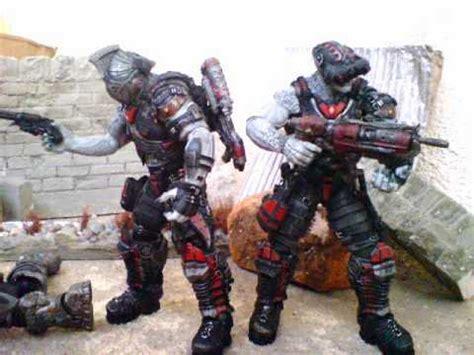 Neca Gears Of Wars 2 Locust Hive Set gears of war locust hive boxset