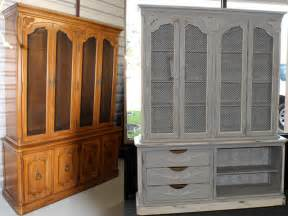 Bathroom Vanity Hutch Cabinets Chalk Paint 169 By Annie Sloan Painted Furniture Projects