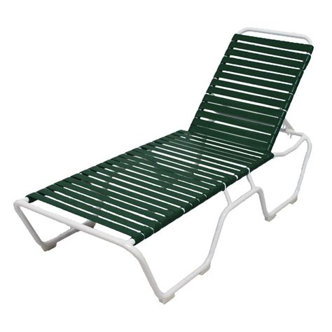 white outdoor chaise lounge polywood nautical white wheeled armless patio chaise