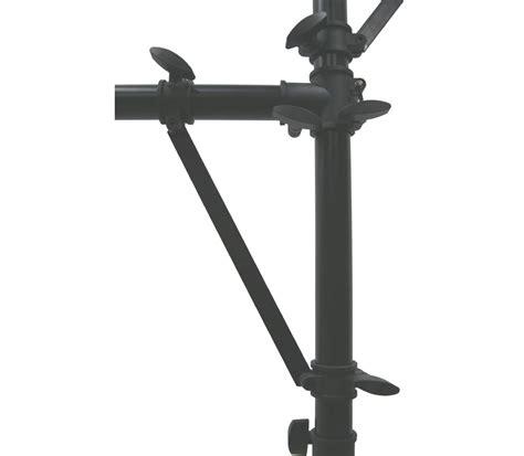 dj light stand accessories pro audio dj quad tree 8 bolt lighting fixture 12 foot