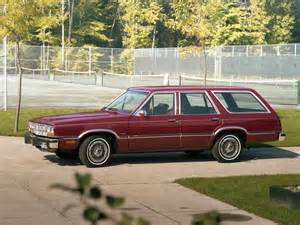 Ford Station Wagon 1981 Ford Fairmont Futura Station Wagon 74b
