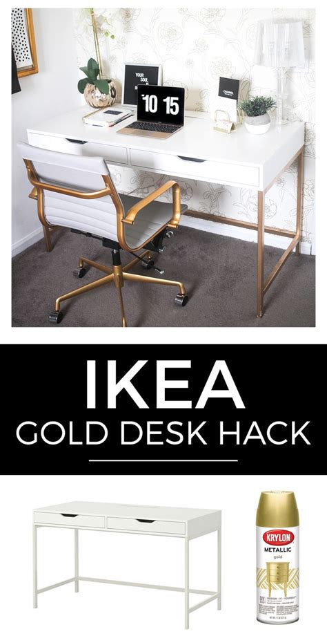 white and gold desk 1000 images about home office ideas on pinterest office