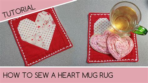 how to make quilted mug rugs how to sew a mug rug quilting tutorial