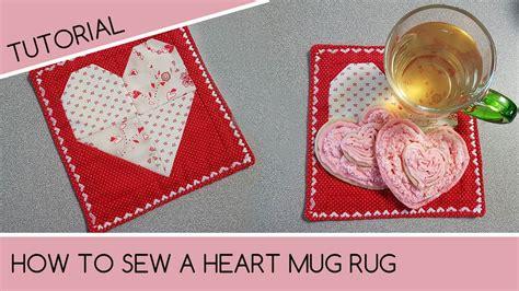 mug rugs to make how to sew a mug rug quilting tutorial