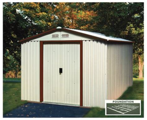 outdoor storage duramax model   titan metal shed