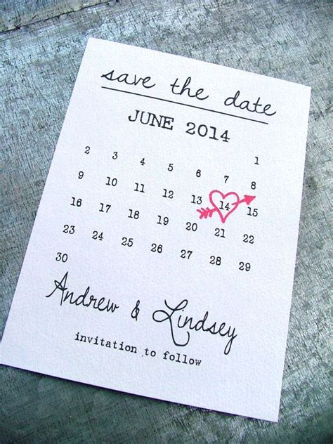 Cheap Calendar Save The Dates Printable Save The Date Cards Date Save The Date Cards