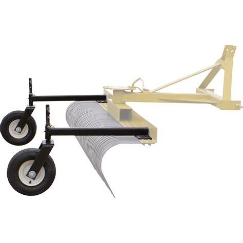 Landscape Rake With Wheels Hawkline By Behlen Country Wheel Kit For Landscape Rakes