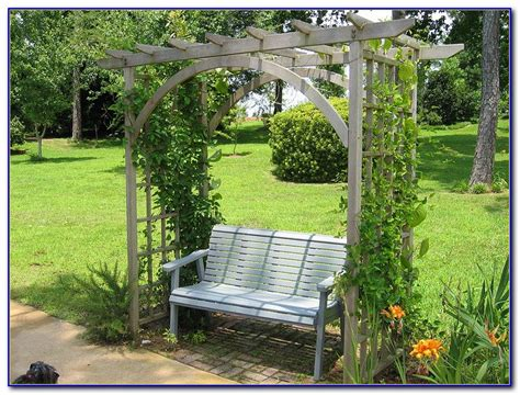 metal arbor with bench metal garden arbor with bench bench home design ideas