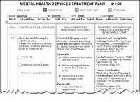 treatment plan template social work developing treatment plans the basics counselling