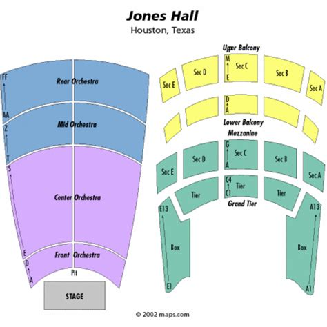 jones seating chart jones seating chart jones tickets jones maps