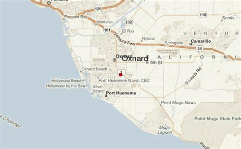 california map oxnard oxnard location guide