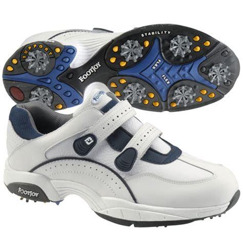 footjoy mens athletic velcro golf shoes tgw