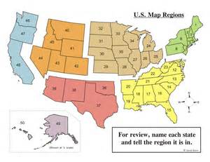us map with capitals and regions united states regions mr reardon s us ii