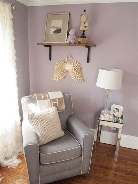 light purple and grey bedroom mila s purple gray modern glamour project nursery